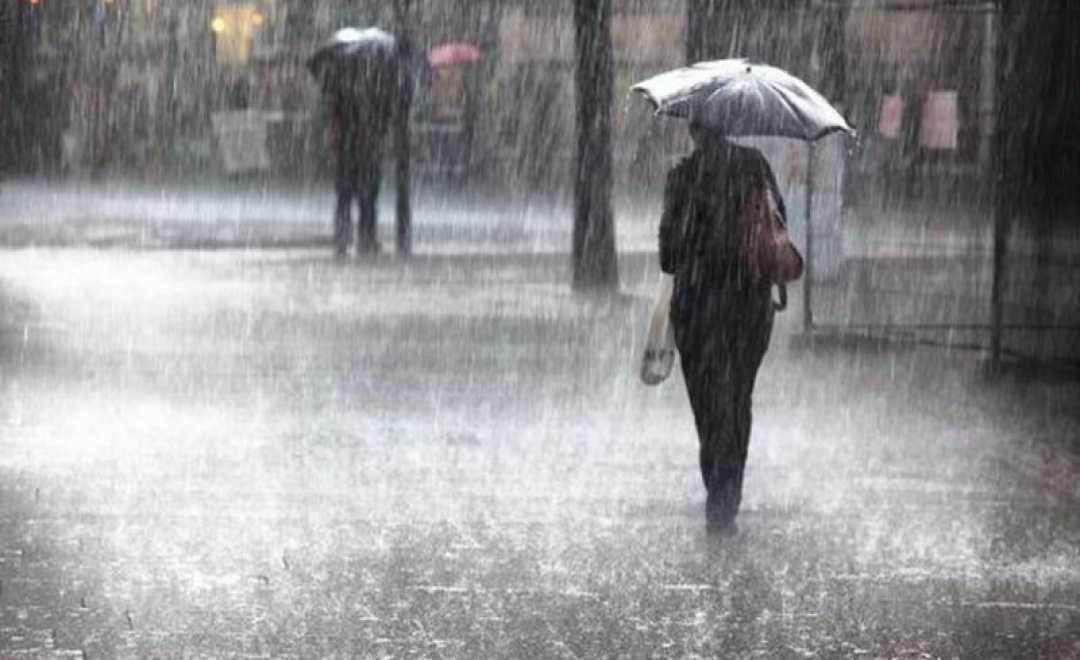 მოსალოდნელი ამინდი - წვიმა ელჭექით, შესაძლებელია სეტყვა და ქარის