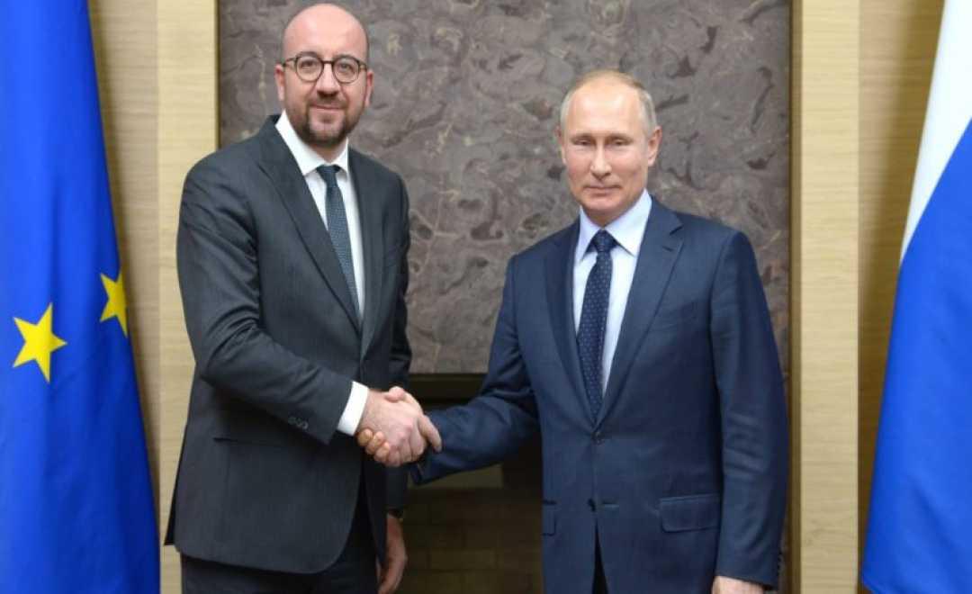 """""""რუსეთის არ გვეშინია და სიმტკიცეს ვიჩენთ""""  -  შარლ მიშელი"""