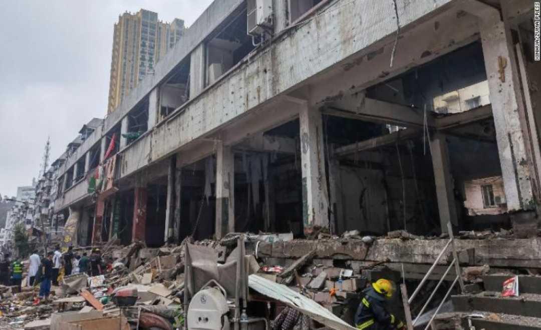 გაზის აფეთქებას 12 ადამიანის სიცოცხლე ემსხვერპლა