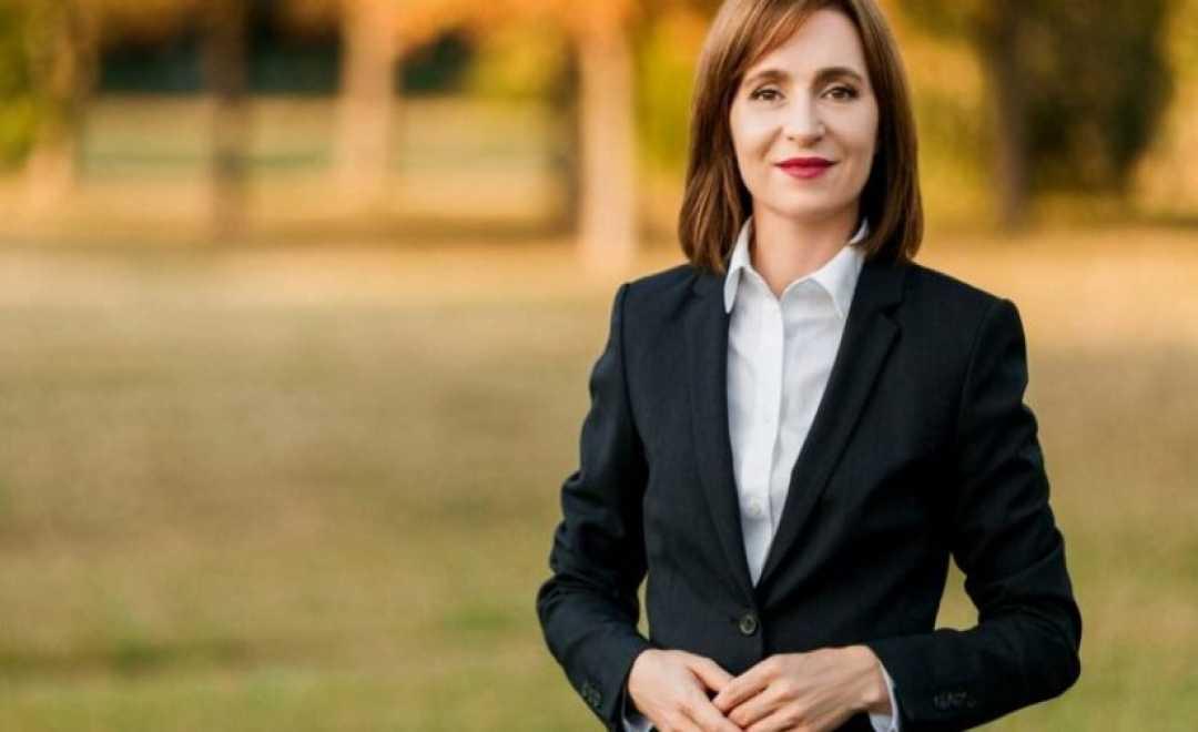 მოლდოვას პრეზიდენტი, მაია სანდუ საქართველოშია